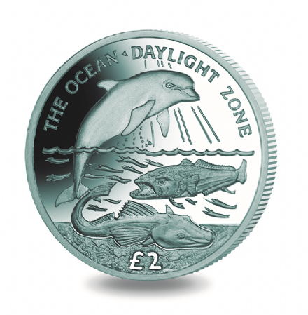 2016 South Georgia and South Sandwich Islands The Oceans Daylight Zone Titanium
